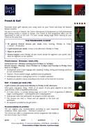 French & Golf France Langue (PDF)