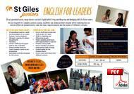 Junior (<18 lat) St Giles International (PDF)