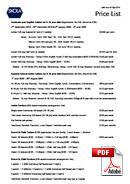 ジュニアコース(18歳未満) Skola (PDF)