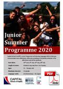 Juniori (alle 18 vuotta) Capital School of English (PDF)