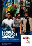 Cours à long terme (12 semaines ou plus) Kaplan International Languages (PDF)