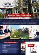 Curs Júnior (6-18 anys) The Oxford English Centre (PDF)