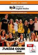Junior (<18 lat) Centre of English Studies (CES) (PDF)