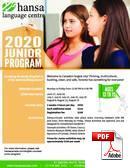 Junior (<18 lat) Hansa Language Centre (PDF)