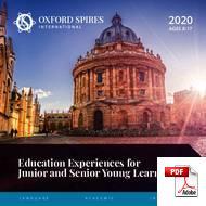 Курс для подростков (<18 лет) Oxford Spires Junior Centre (PDF)