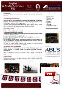 Inglese per ragazzi (6-18 anni) Anglophiles Summer School (PDF)