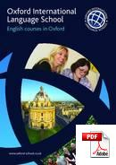 Cambridge Advanced Oxford International Language School (PDF)