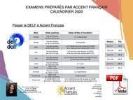 TCF Accent Francais (PDF)