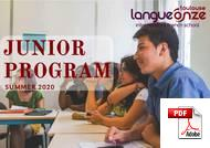 ジュニアコース(18歳未満) Langue Onze Toulouse (PDF)