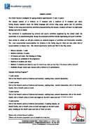 Juniorkurs (6-18 år) Accademia Leonardo (PDF)
