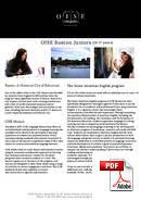 Programme pour Juniors (6-18 ans) OISE (PDF)
