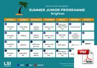 Programme pour Juniors (6-18 ans) LSI - Language Studies International (PDF)