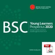 Programme pour Juniors (6-18 ans) British Study Centre (PDF)