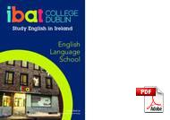 Cambridge Advanced Certificate IBAT College (PDF)