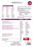 Programme pour Juniors (6-18 ans) Colegio de España (PDF)