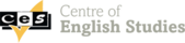 Centre of English Studies (CES) logo