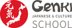 Genki Japanese and Culture School logo
