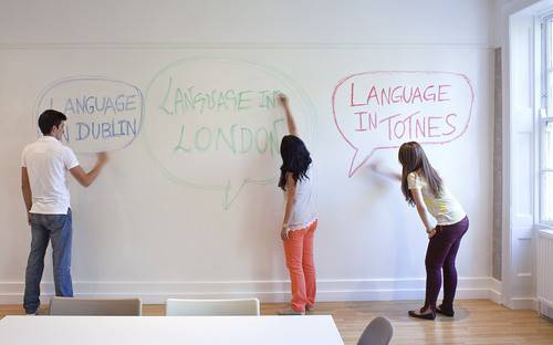 Language In London