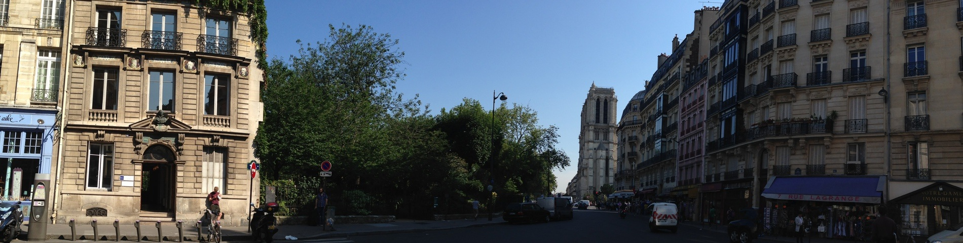 France Langue Paris Notre Dame foto 1