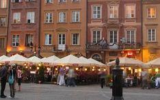 Najpopularniejsze destynacje: Warszawa (miniaturka miasta)