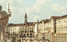 Найпопулярніші місця призначення: Турін (ескіз міста)