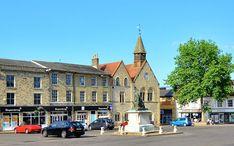 Legnépszerűbb célállomások: Bury St Edmunds (A város kicsinyített nézete)