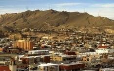 بیشترین مقصدها: ال پاسو (نقشه کوچک شهر)